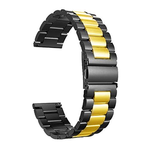 EATAN Team99 Classic Metall Edelstahl Armband Kompatibel für Oneplus Watch Strap One Plus Smartwatch Armband Armband Wechselgürtel
