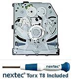 nextec Sony PS4 Lettura Bluray - BDP-01 Circuit Board (KES-860A/ KEM-860AAA/ KEM-860PHA/ KEM-860PAA) + Cacciavite di Sicurezza Torx T8