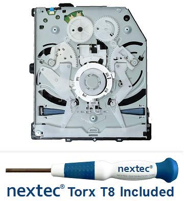 Sony PS4 Disc Drive Replacement/ PS4 Bluray Drive with Laser (KES-860/ KEM-860) Circuit Board (BDP-010/ BDP-015) + Nextec T8 Screwdriver