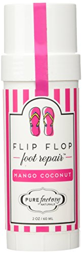 Flip Flop Foot Repair by PURE Factory - Mango Coconut 2 oz. Moisturizer Feet by PUREfactory Naturals