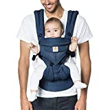 Ergobaby OMNI 360 Cool Air Mesh Ergonomic Baby Carrier All Carry Positions, Newborn