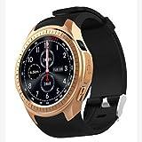 ForceSthrength L1 Smartwatch-Telefon 1,3-Zoll-Runde HD IPS-Anzeige Herzfrequenz-Schlafmonitor