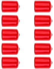 perfeclan Taco De Billar para Piscina 10 Piezas Protector Goma Protector Rojo