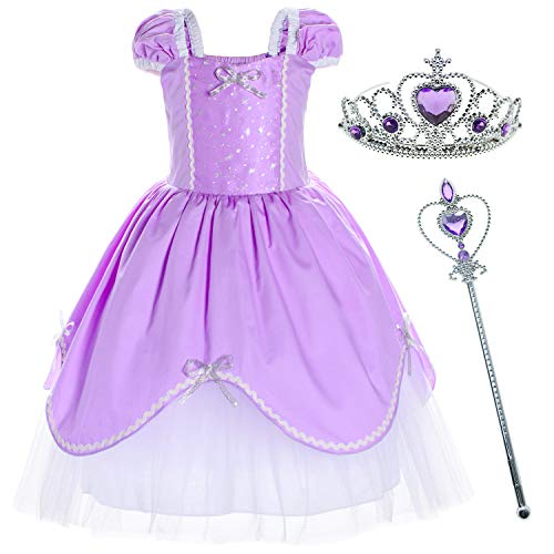 Princess Costume Birthday Party Dress for Toddler Girls 18-24 Months