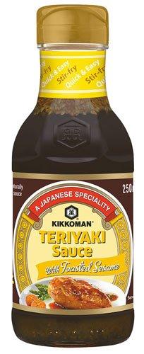 6x Kikkoman - Teriyaki Sauce mit Sesam - 250ml