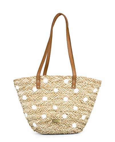 Gioseppo 47772, Shopper para Mujer, Beige (Natural), 27x32x51 cm (W x H x L)