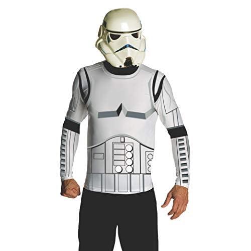 Rubie's Rubies 3880679–Costume per adulti–Stormtrooper Adult, L, bianco