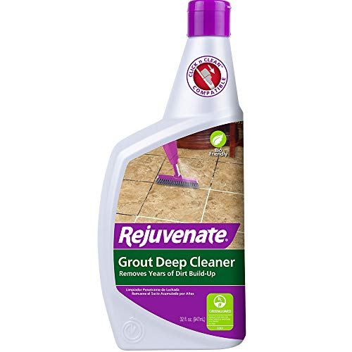 Rejuvenate Grout Deep Cleaner Safe Non-Toxic Cleaning Formula Instantly Removes Years of...