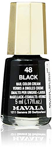 Esmalte Negro Mate  marca Mavala