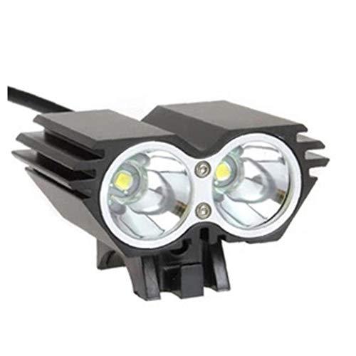 Isuper Fahrrad-Licht-Set, Super Bright Wiederaufladbare Fahrradbeleuchtung mit 3 glühend Fahrradlampe und sicherem Rücklicht, Blendstrahl, leicht zu montieren