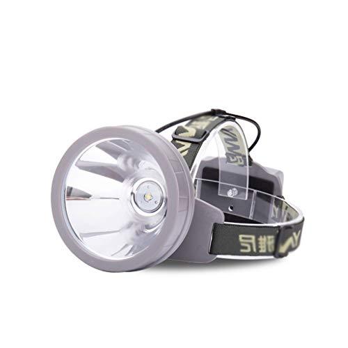 SSG Home Éclairage de Nuit Extérieur Phares Famille Camping Rechargeable LED Lampe Frontale montée Pêche sur Le Terrain à Distance Lampe de Poche étanche Pratique et Durable (Color : Yellow Light)