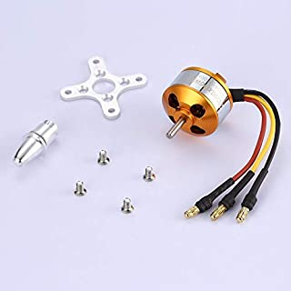RoseYary DXW A2208 1800KV 2-3S Outrunner Brushless Motor for RC Fixed Wing Airplane