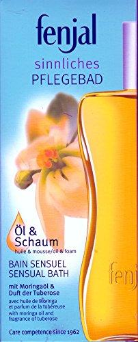 Fenjal Öl & Schaum Bad mit Moringöl und Duft der Tuberose 200 ml