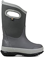 Kids Footwear Bundle: Bogs Kids' Classic Matte Insulated Rain Boots & Towel