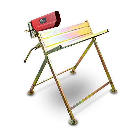 BITUXX® Sägebock Sägehilfe Kettensäge Holzsägehilfe für Kettensägen Motorsägen Sägenhalterung Wippsäge Kippsäge
