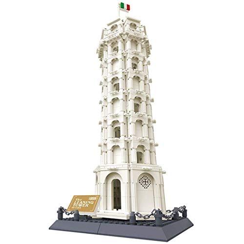 WANGE Pisa Turm - Torre de Pisa. Architektur Modell zum Bauen