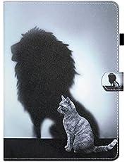 Case voor Samsung Galaxy Tab een 8.0 2019 Case, SM-T290/T295 Tablet Case, Shockproof PU Lederen Multi-Angle Bekijken Stand Functie Folip Flip Beschermende Cover Achteraanzicht