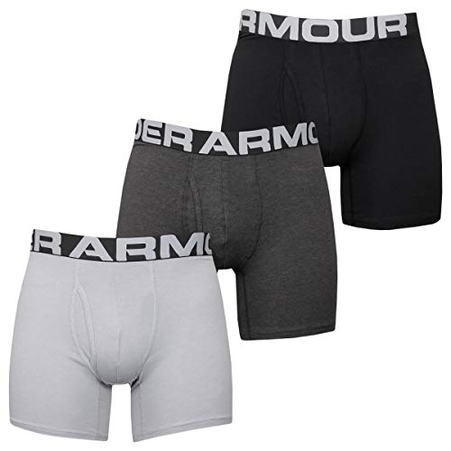 Under Armour UA Showdown Taper, elegante Golfhose mit optimaler Bewegungsfreiheit, komfortable Sporthose mit 4-Pocket Design Herren, Black / Steel Medium Heather / Black, 34/30
