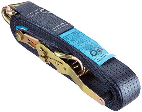 Connex B34414 sjorband met spanratel en haken, 50 x 8000 mm EN12195-2, belastbaar tot 5000 kg in omsnoering