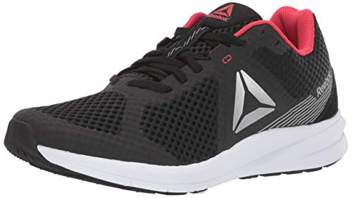Reebok Women's Endless Road Running Shoe, Black/Grey/Pink, 9 M US