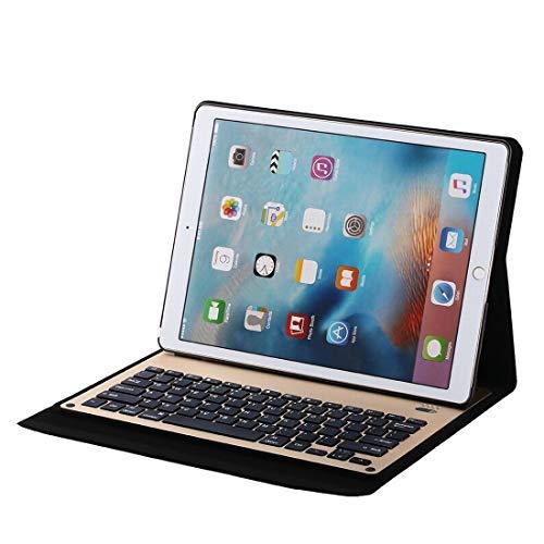 Hemotrade Aluminium Toetsenbord Case Bluetooth Toetsenbord Compatibel met Ipad Pro