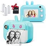 "Kids Camera Instant Camera for Kids Digital Camera for Boys Girls, 3.0"" Touch Screen Kids Selfie..."