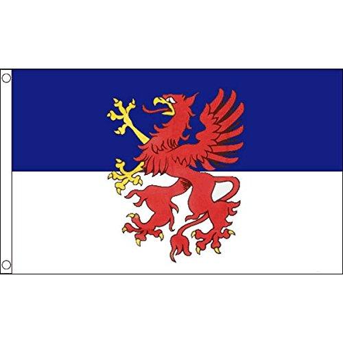 AZ FLAG Flagge POMMERN 150x90cm - POMMERNS Fahne 90 x 150 cm - flaggen Top Qualität
