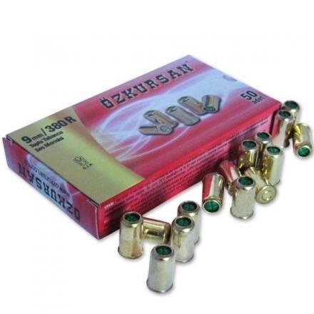 Ozkursan Cal.9mm 380/R Revolver 50 Pezzi A Salve-BLANCK 5704