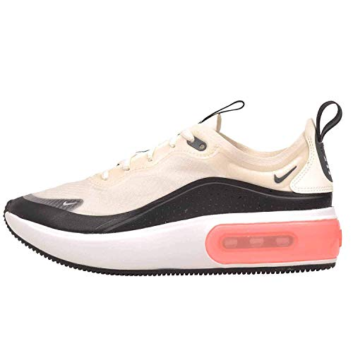 Nike Womens Air Max Dia SE Canvas Low Top Lace Up Running, Beige, Size 8.5