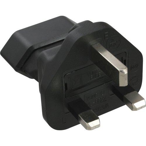 InLine Engeland UK stekker op euro-stopcontact netadapter