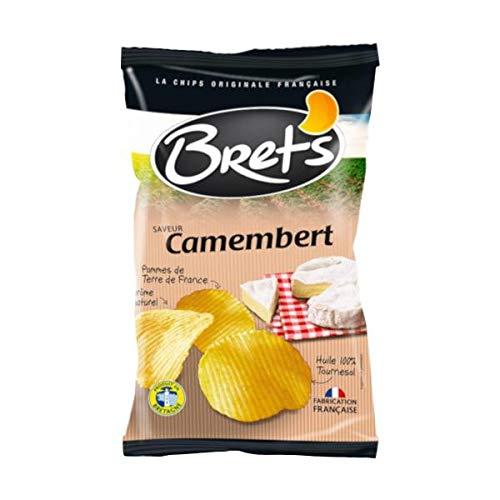宝商事 Brets (ブレッツ) ポテトチップス カマンベールチーズ 125g×10袋