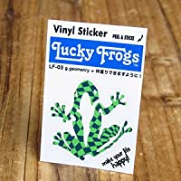 ステッカー Lucky Frogs 仲直りできますように!_SC-LF03-GEN