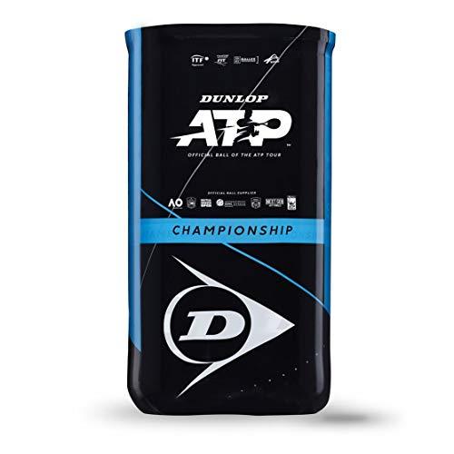 Dunlop Tennisball ATP Championship - 2x4 PET Dose mit ATP Logo Sleeve - von der ATP Tour empfohlen