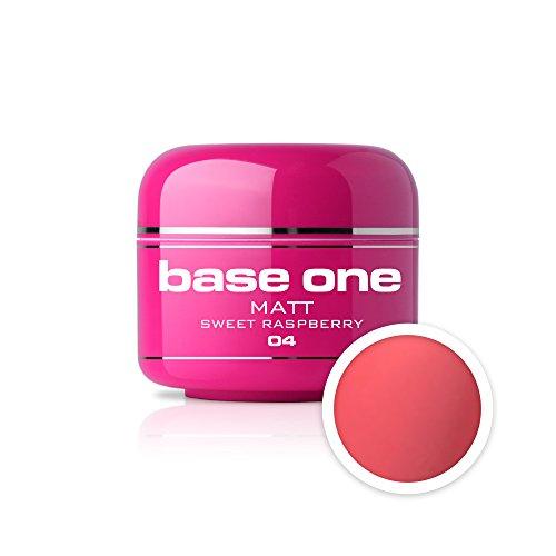 UV Gel de Couleur MAT N°04 Sweet Raspberry 5 ml Gel UV coloré Matt Look