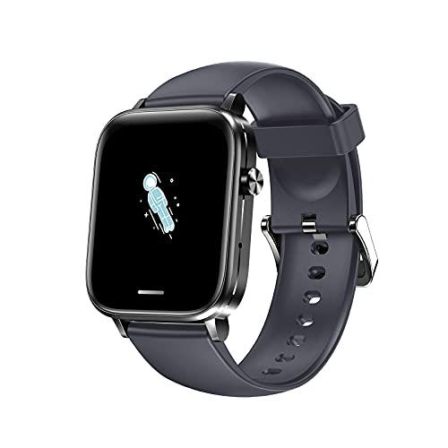 VBF Mano Llamada Telefónica Gratuita H7 Tracker Trailer Smart Watch Responder Teléfono Llamada Salud Tracker Presión Arterial Seguimiento De La Salud para iOS/Android,D