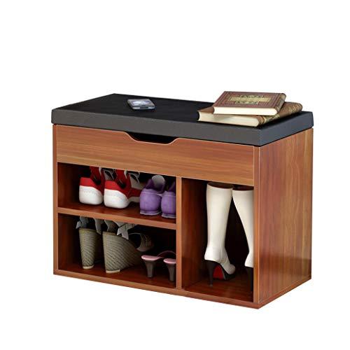 Zapato Rack/Gabinete de Calzado Moderno Simple Inicio Zapato Banco Consola Gabinete de Almacenamiento práctico de diseño de la Comodidad Respirable de Carga 80 kg Tamaño Longitud Ancho 60cm * 30cm *