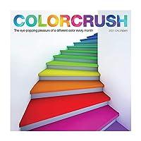Colorcrush 壁掛けカレンダー 2021 [12インチ x 12インチ ]