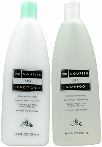 Trader Joe's Nourish Spa Shampoo and Conditioner (New 2018 Formula)