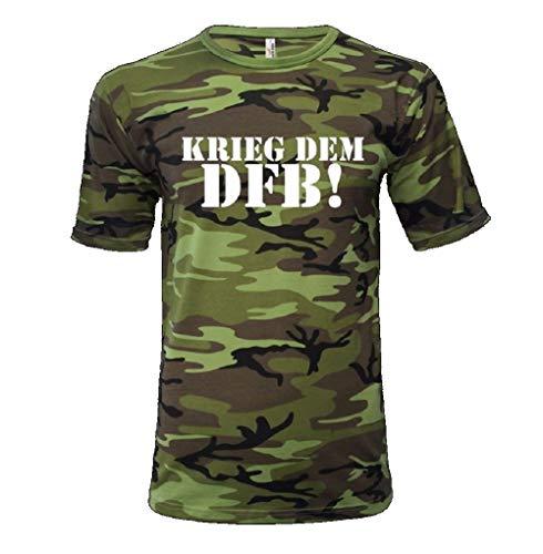 Merchandise Krieg dem DFB T-Shirt (Camouflage, XS)