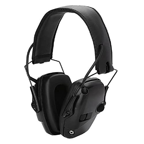 Auricular Disparo Electrónico Orejera Amplificación Anti-ruido Sonido Protector Auriculares Táctico Protector Auditivo Al Aire Libre