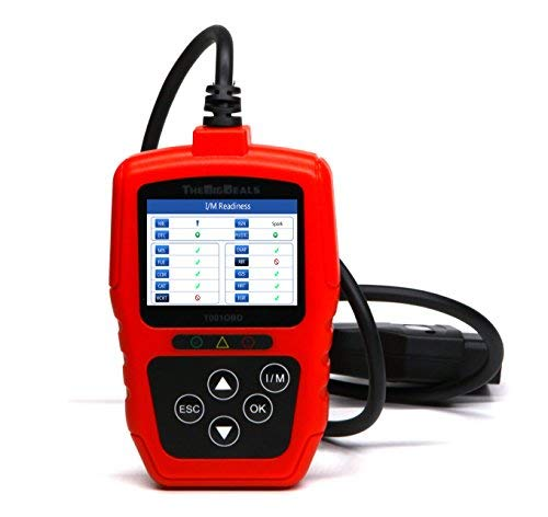 THEBIGDEALS OBD II Scanner Car Engine Fault Code Reader CAN Diagnostic Scan Tool OBD2 Scanner