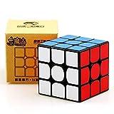 Yuxin Little Magic 3x3x3 Speed Cube Cubo mágico Cubo de Rompecabezas de Giro Suave y rápido ( Negro )