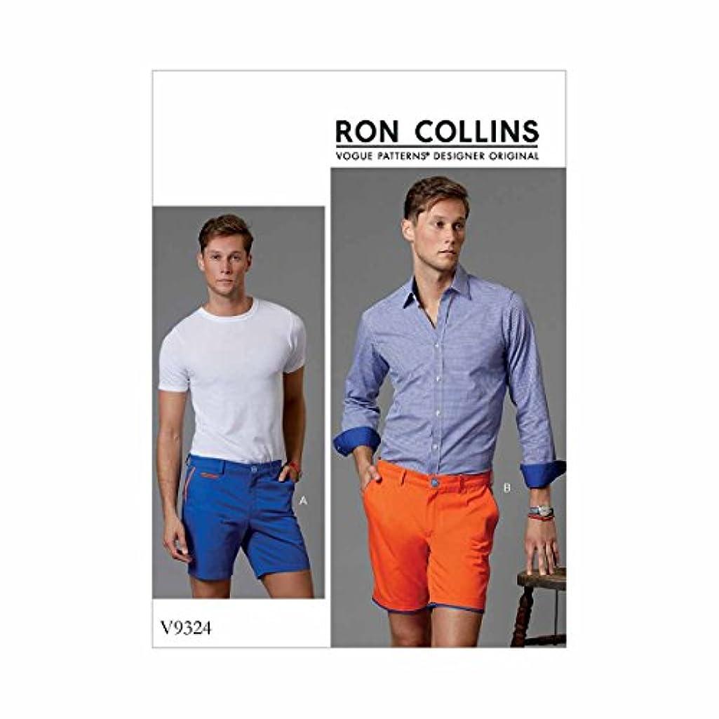 Vogue Patterns V9324NYY Pants Men's Shorts 36-39-42-44