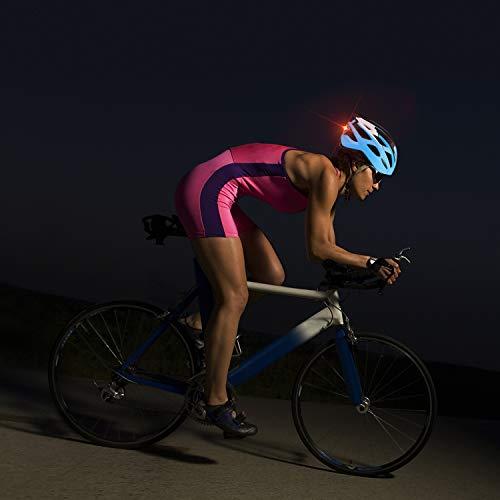 Shinmax Casco de Bicicleta monta/ña con luz de Advertencia LED Casco de MTB con Visera Desmontable Casco de Ciclismo BMX equitaci/ón Casco Bici Hombres y Mujeres Adultos CE Certificado Stvzo