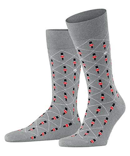 Burlington Herren Royal Guards Socken, grau (Light Grey 3400), 40-46