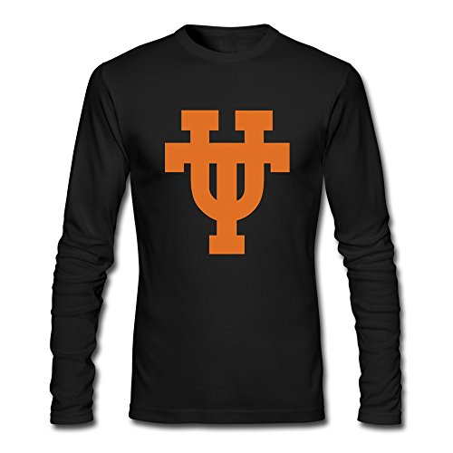 HEJX Men Texas Longhorns Logo Hot T…