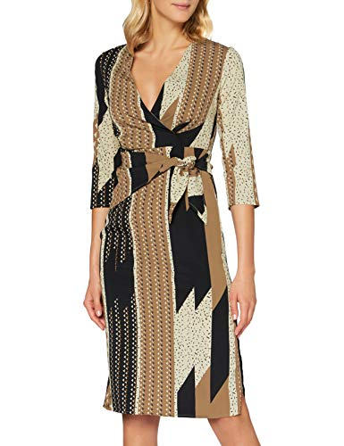 Sisley Dress Vestito, Stampa 75f, 44 Donna