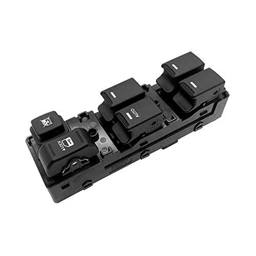 PREPP Ajuste para aplicable a KIA Sorento 2009-2014 Master Master Switch 93573-2P000 (Color : Black)
