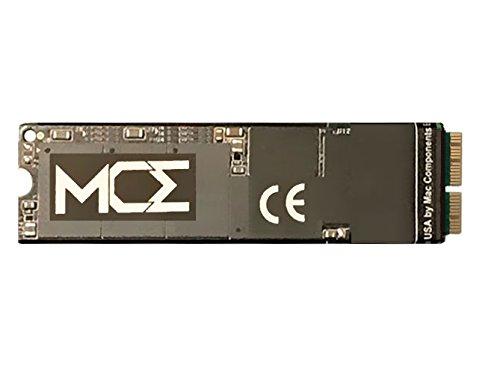 MCE SSD de 512GB para MacBook Air 2015 y MacBook Air 2017: actualización de almacenamiento flash SSD NVMe de 4 carriles (x4) basado en PCIe, requiere macOS 10.13.x (High Sierra) o posterior