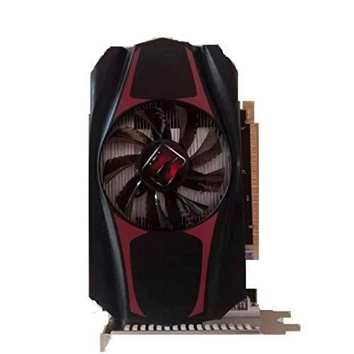 Tarjeta gráfica de Escritorio: Tarjeta gráfica Independiente AMD ATi HD 6770 de 4 GB DDR5 para Jugar Juegos en 3D convencionales